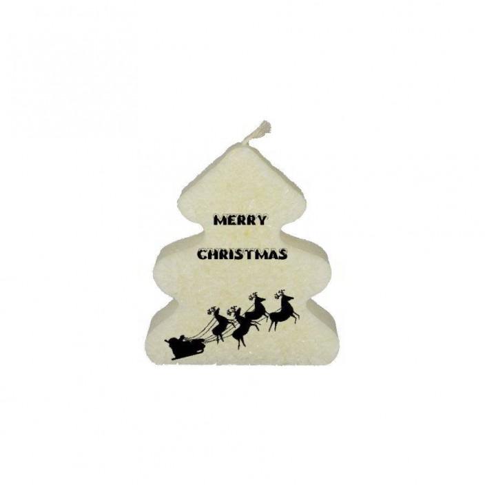 Merry Christmas  (kerstboomkaars)
