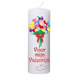 Valentijn kaars 70x200 - Voor mijn valentijn