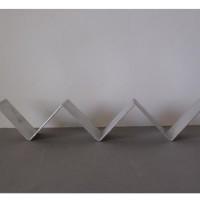 Kubus houder aluminium triple