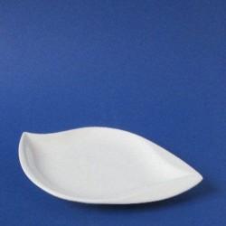 witte leaf schaal  230x140
