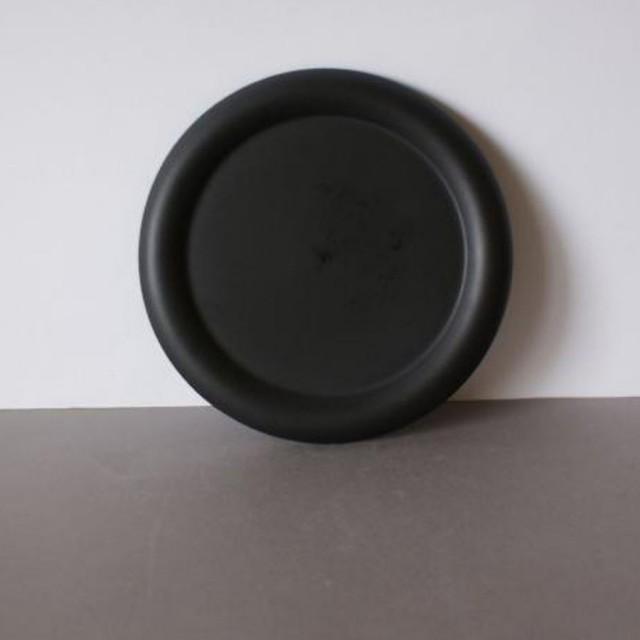 Zwarte ronde schaal 190mm