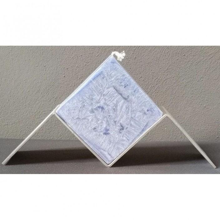 Zwevende kubus lichtblauw