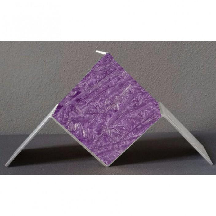 Zwevende kubus paars