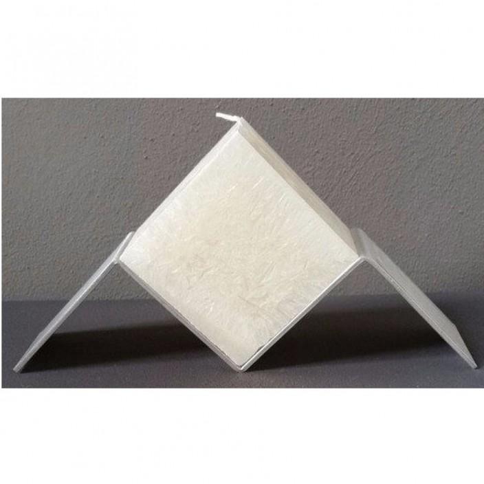 Zwevende kubus wit
