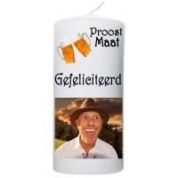 """Proost Maat"" met Foto 100x200"