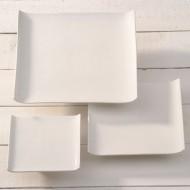 witte vierkante schaal 140x140