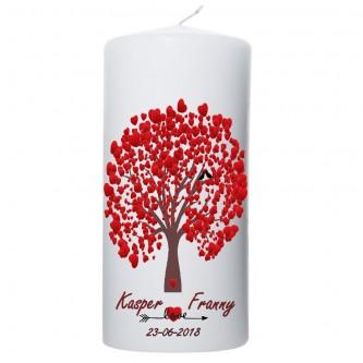 Trouwkaars Lovetree