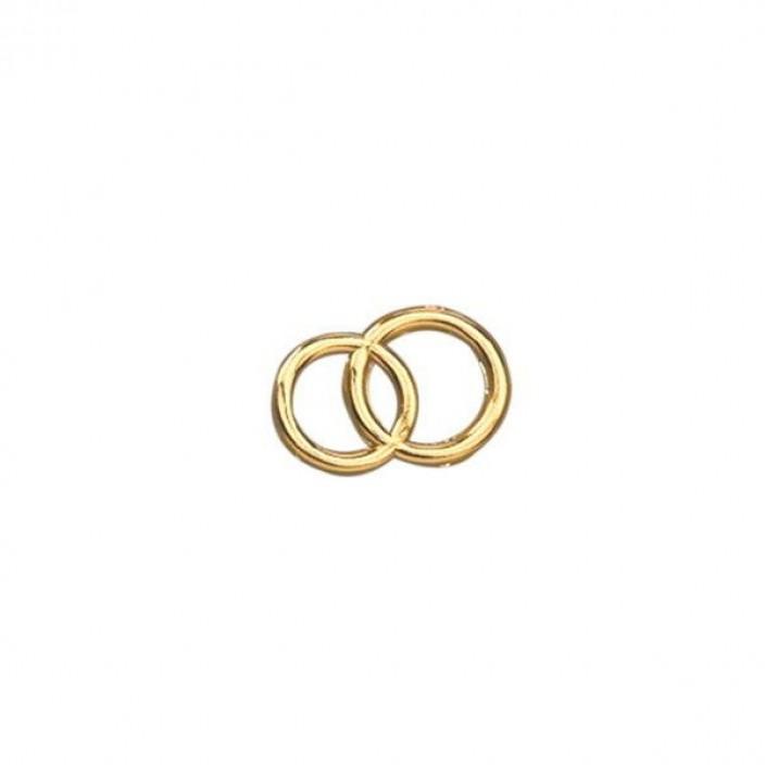 Ringen goudkleurig
