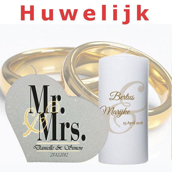 Een unieke Trouwkaars als HuwelijksCadeau