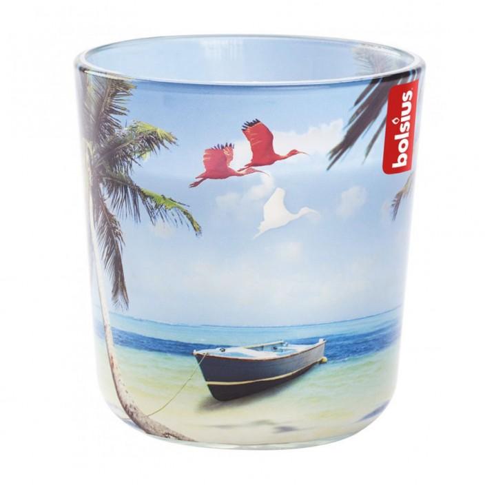 Gevuld deco geurglas 97/91 Caribbean beach
