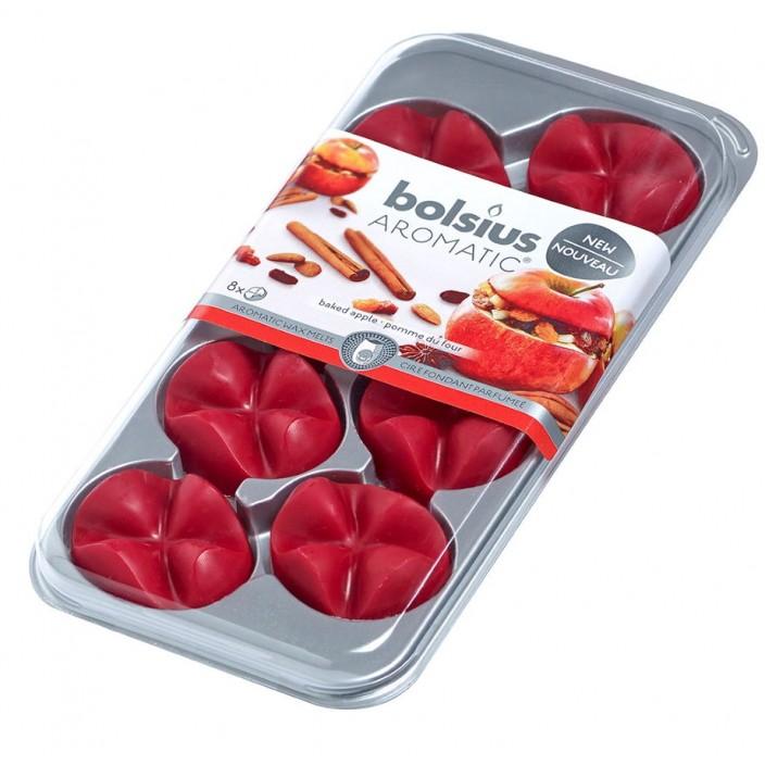 Aromatic waxmelts blister 8 stuks, Baked Apple