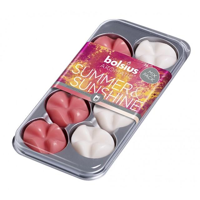 Aromatic waxmelts blister 8 stuks Summer & Sunshine