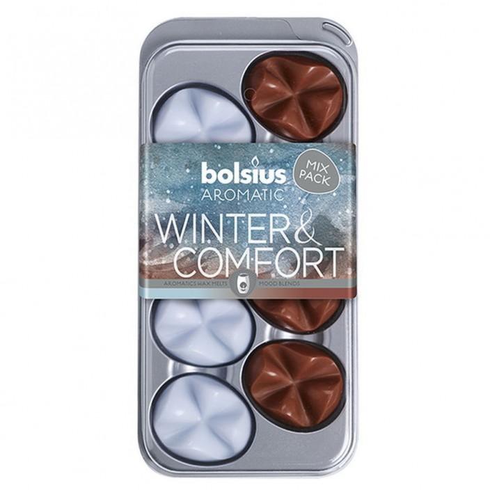 Aromatic waxmelts blister 8 stuks Winter & Comfort