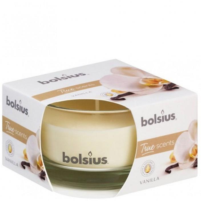 Bolsius Geurglas 80/50 True Scents Vanille