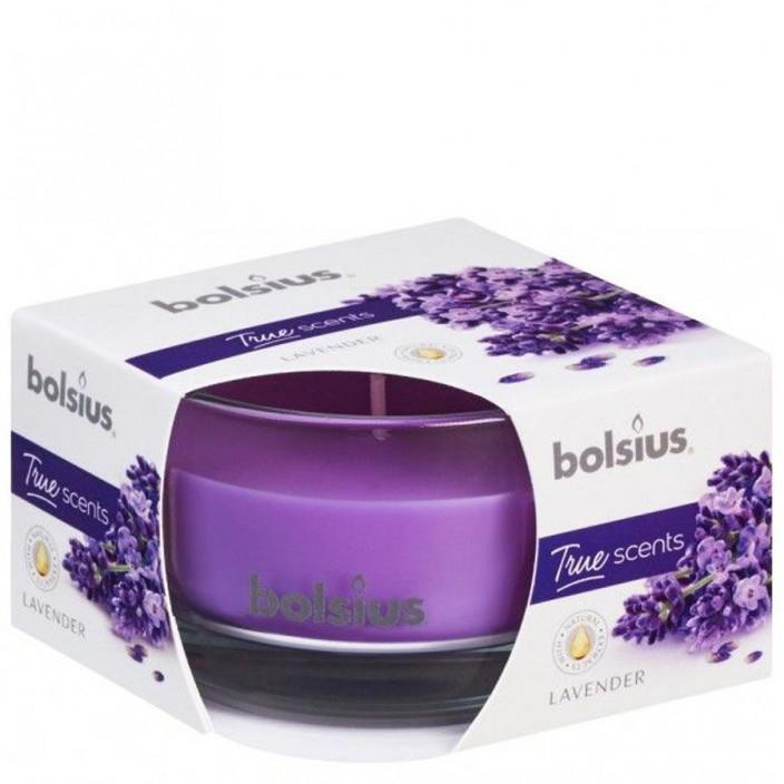 Bolsius Geurglas 80/50 True Scents Lavendel
