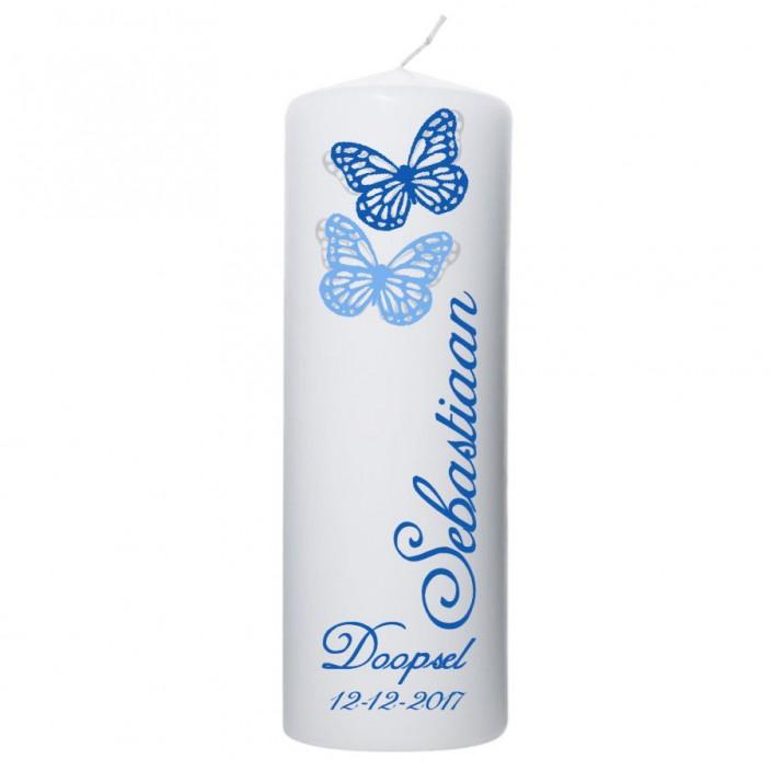 Doopkaars vlinders