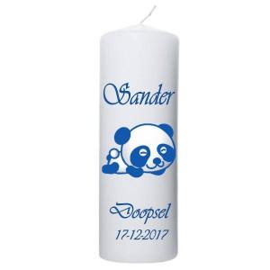 Doopkaars panda