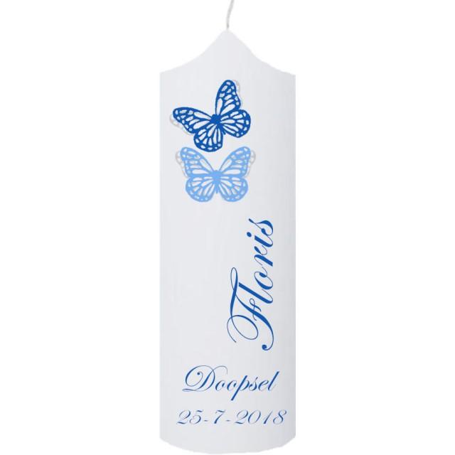 Doopkaars vlinders  (klokkaars)
