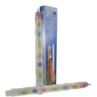 Druipkaarsen multicolor 20x300 (set van 2)