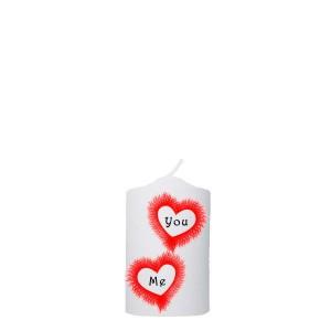 Valentijn kaars 48x100 -  You-Me