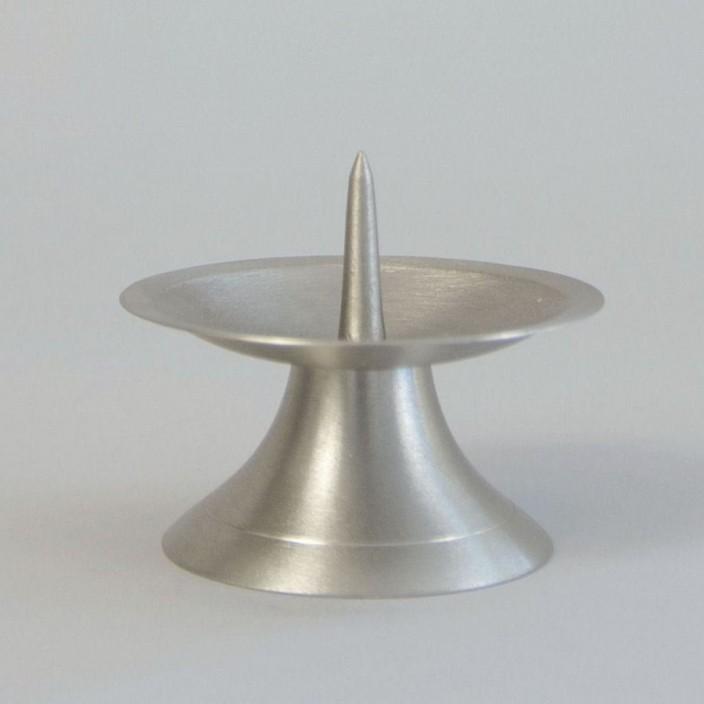 Kandelaar Zilver- diameter 110mm